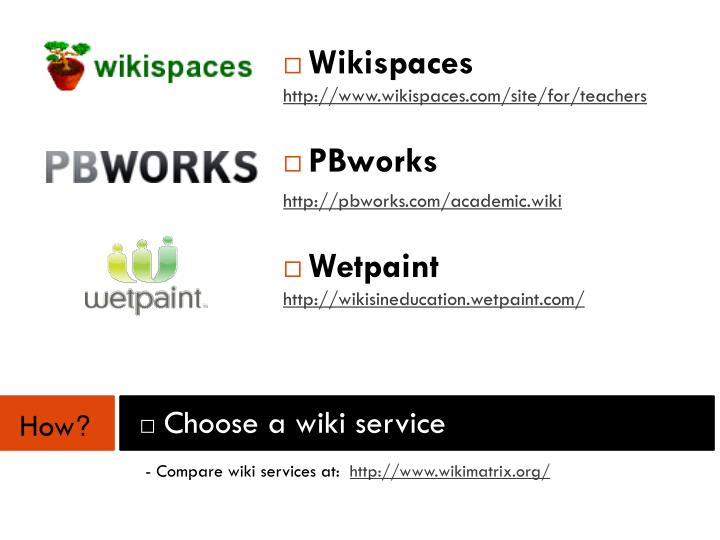 Wikispaces