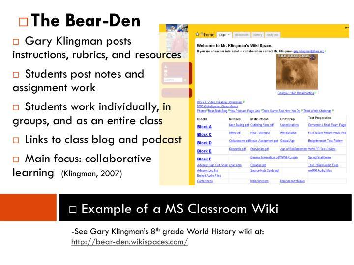 The Bear-Den