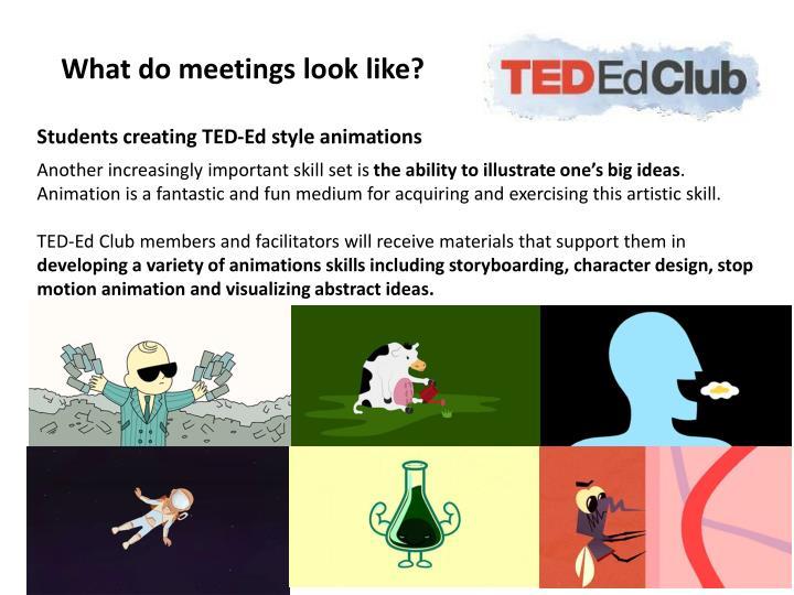 What do meetings look like?