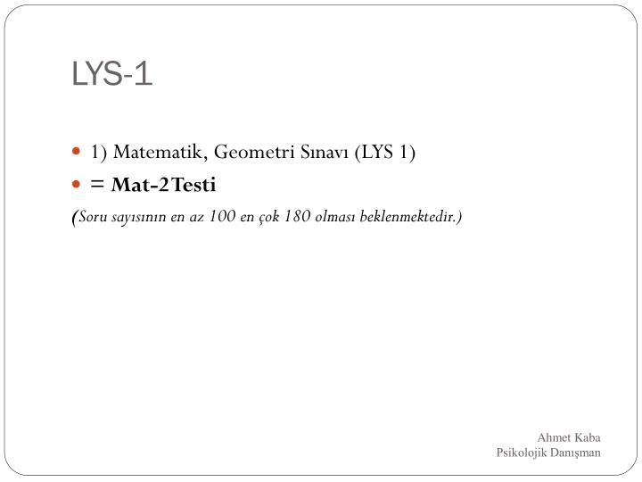 LYS-1
