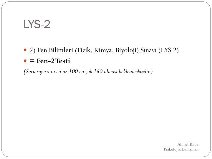 LYS-2