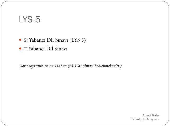 LYS-5