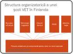 structura organizatoric a unei coli vet n finlanda