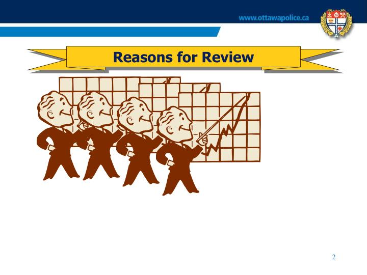 Reasons for Review