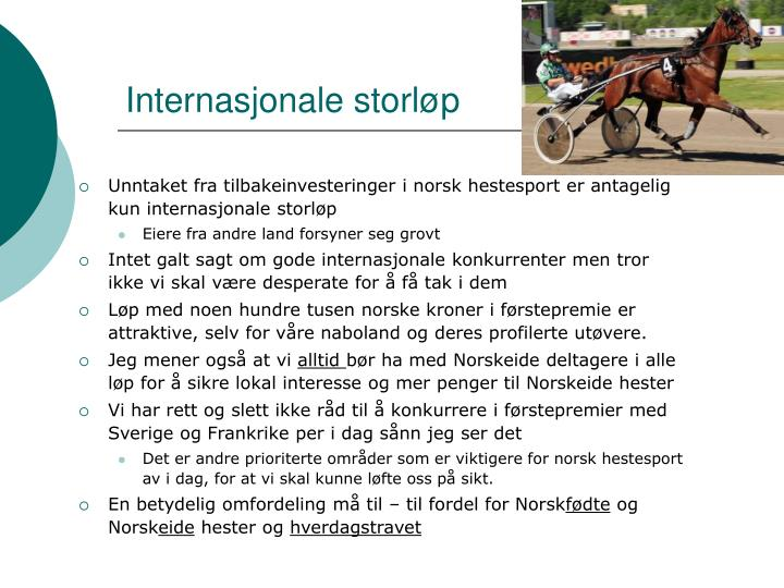 Internasjonale storløp