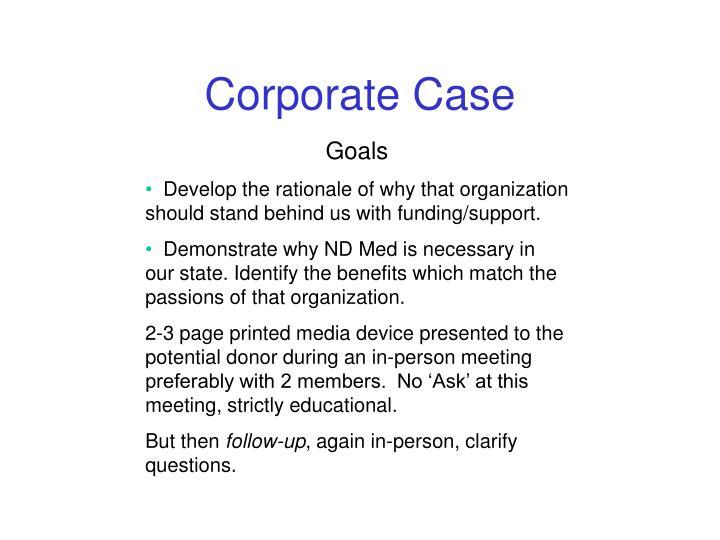 Corporate Case