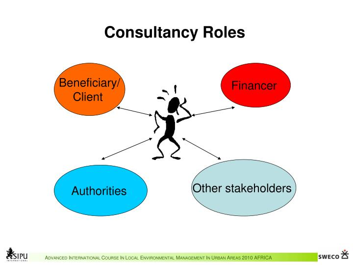Consultancy Roles