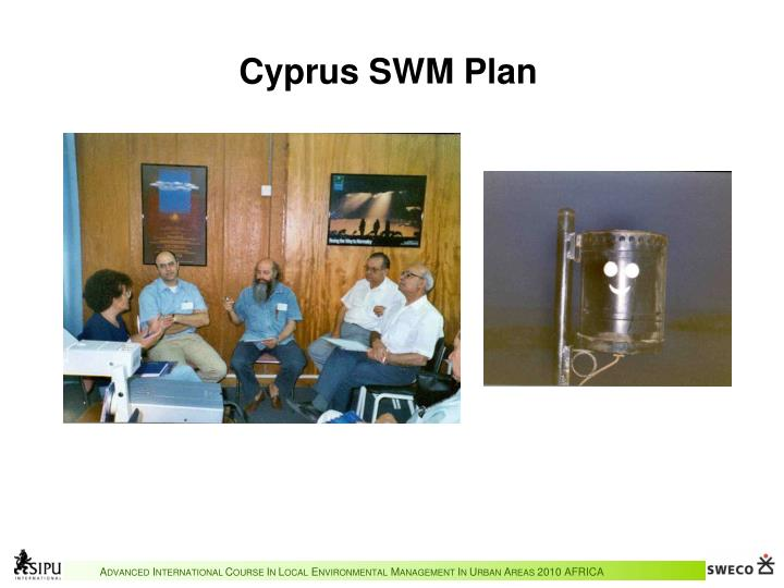 Cyprus SWM Plan