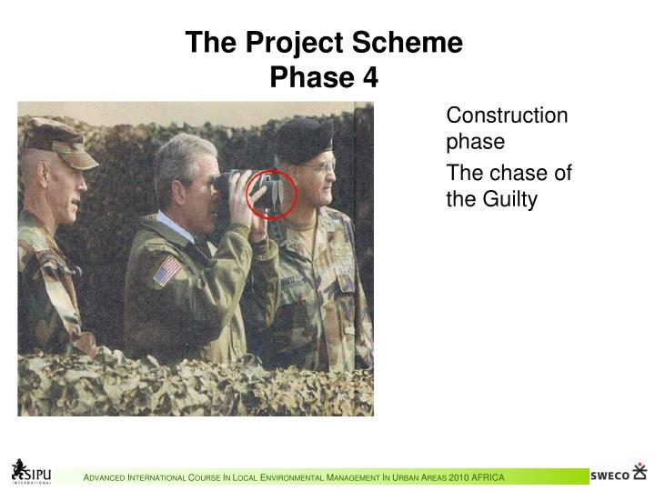 The Project Scheme