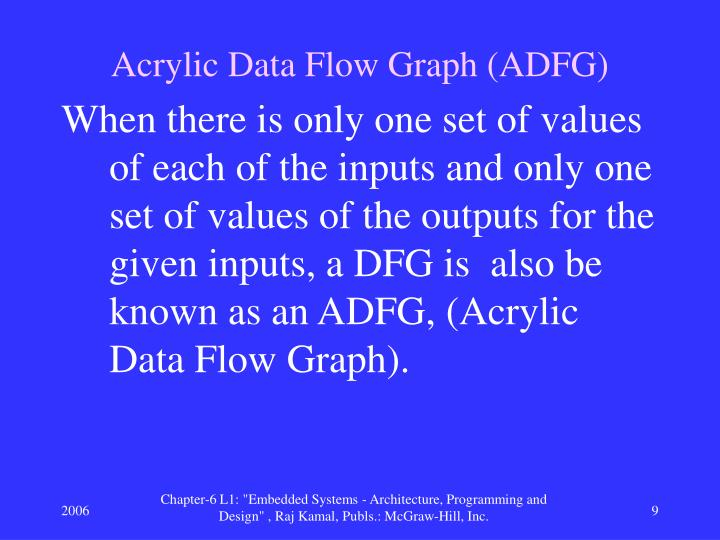 Acrylic Data Flow Graph (ADFG)