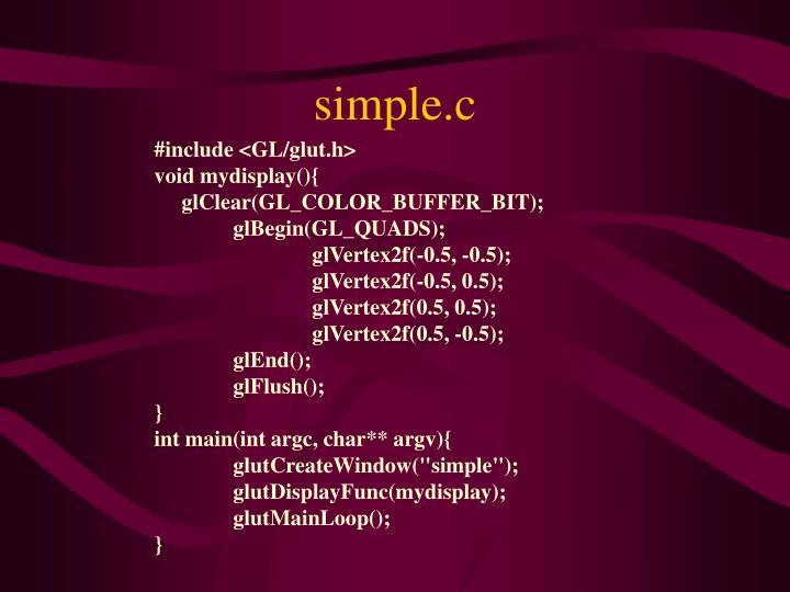 simple.c