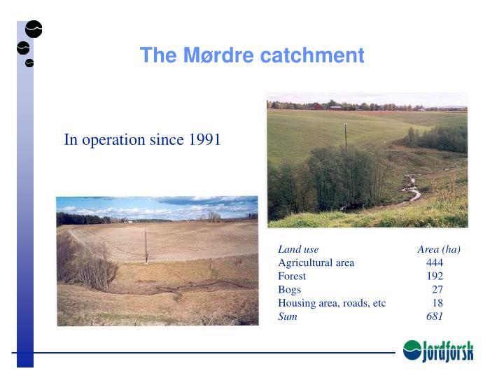 The Mørdre catchment