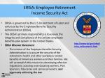 erisa employee retirement income security act