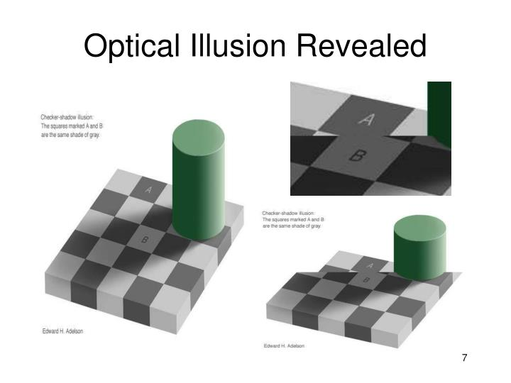 Optical Illusion Revealed