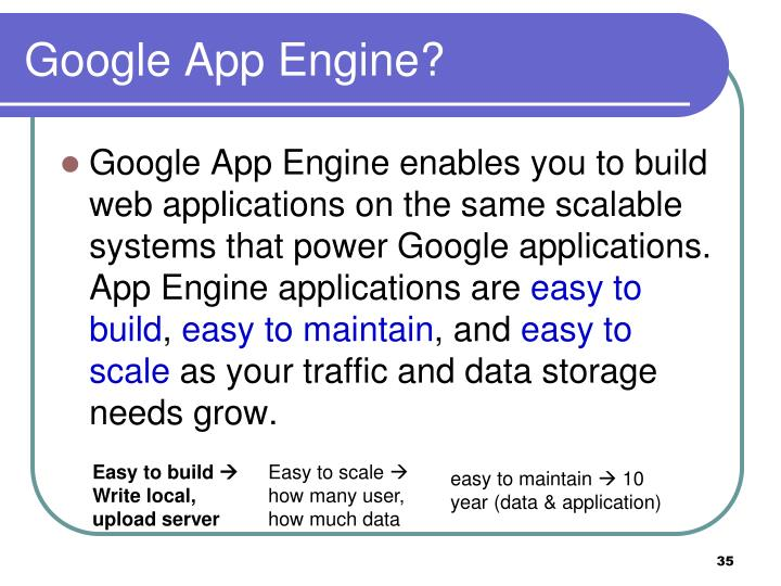 Google App Engine?