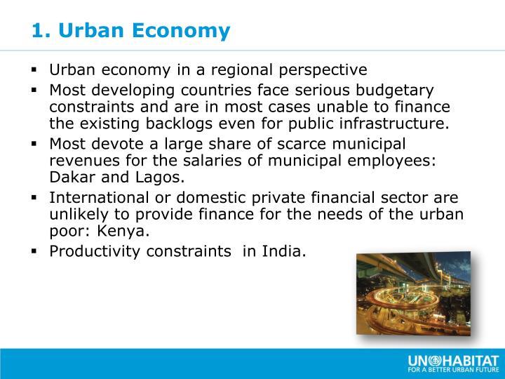 1. Urban Economy