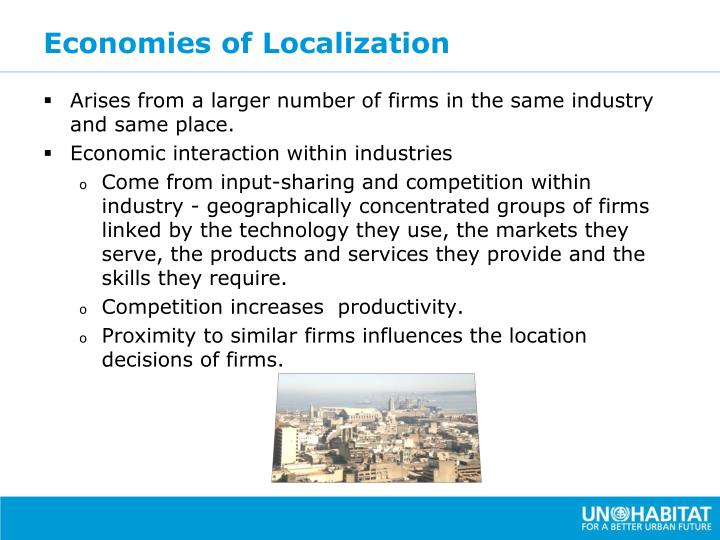 Economies of Localization