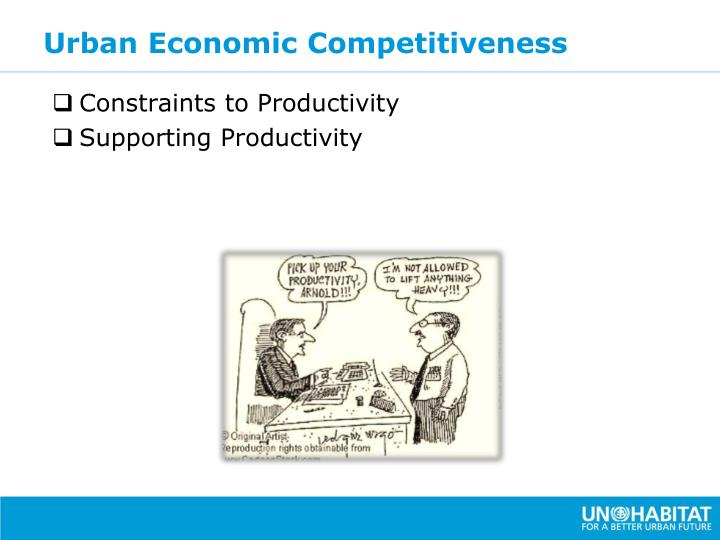 Urban Economic Competitiveness