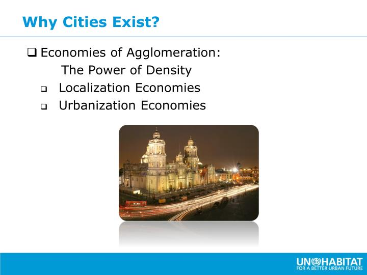 Why Cities Exist?