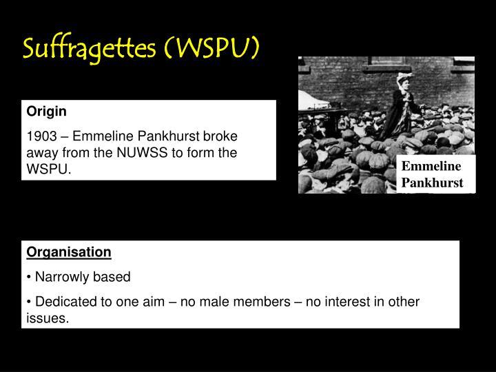Suffragettes (WSPU)