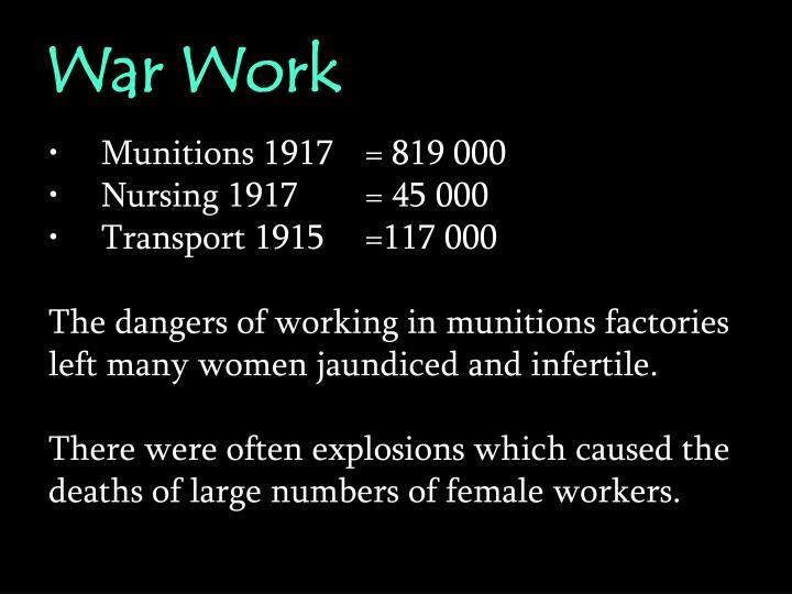 War Work