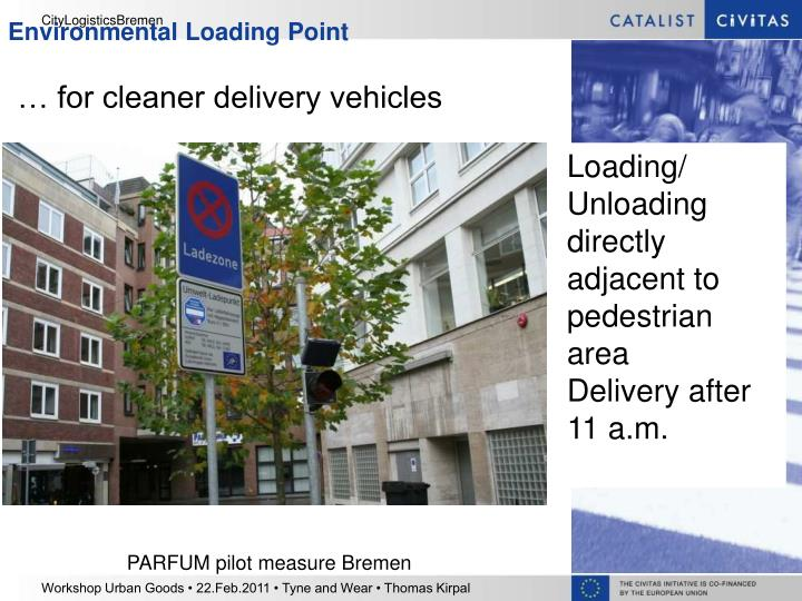 … for cleaner delivery vehicles