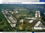 freight logistic center bremen