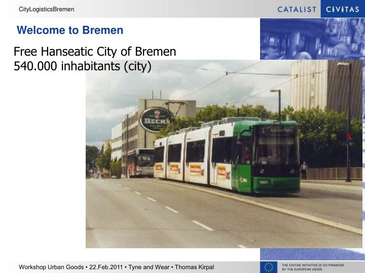 Welcome to Bremen