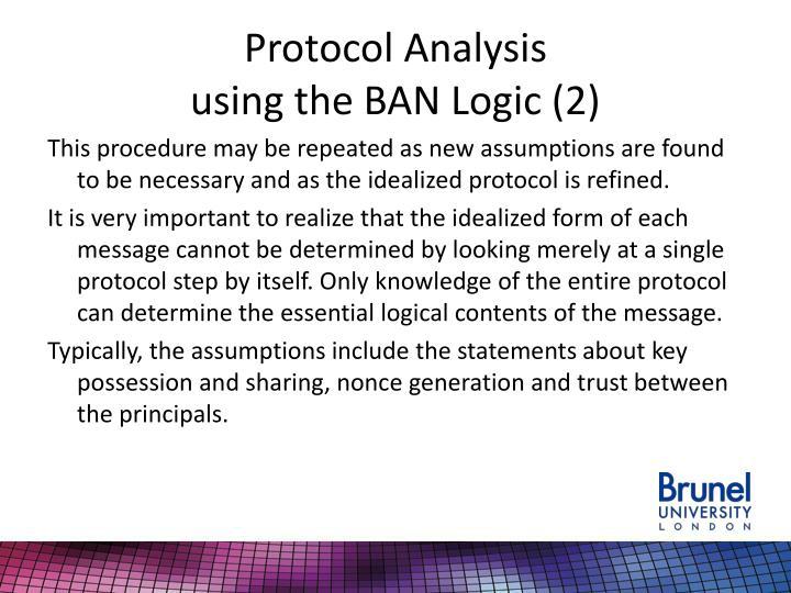 Protocol Analysis