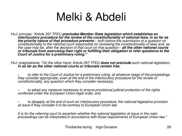 Melki & Abdeli