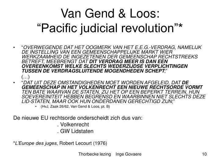 Van Gend & Loos: