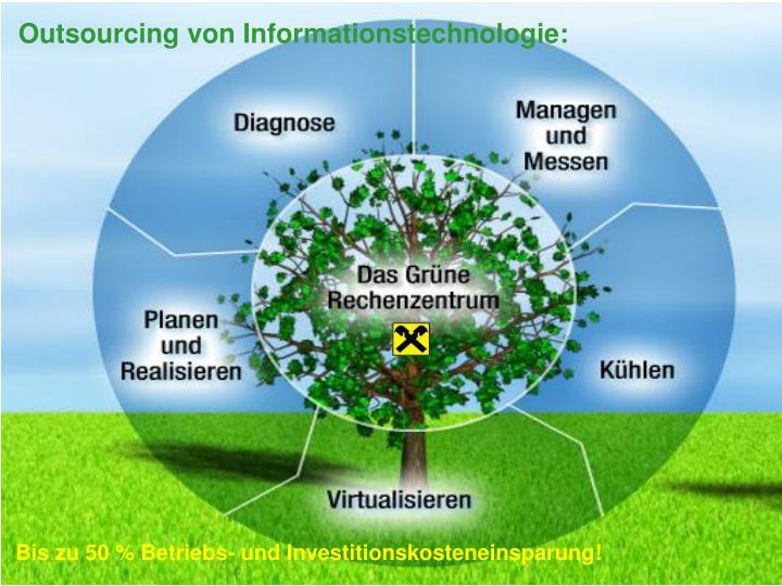 Outsourcing von Informationstechnologie: