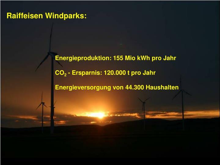 Raiffeisen Windparks: