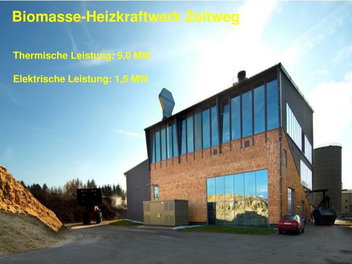 Biomasse-Heizkraftwerk Zeltweg