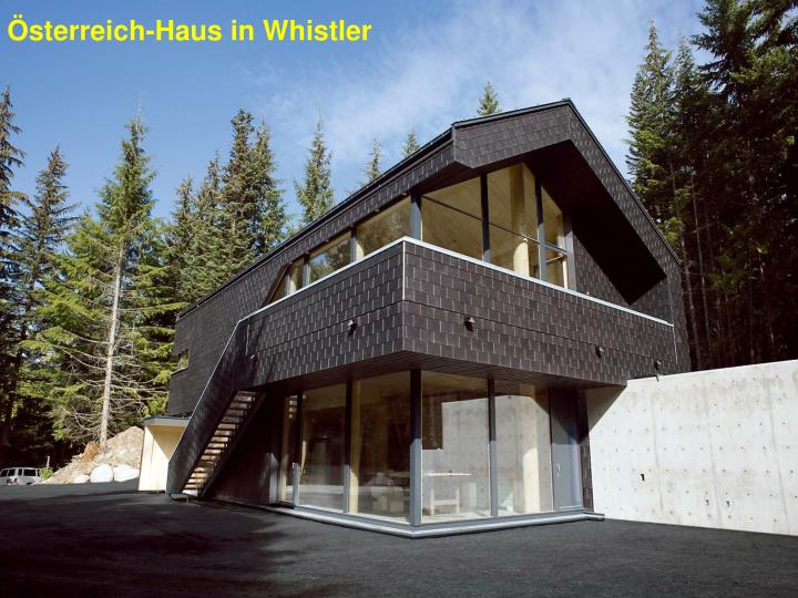 Österreich-Haus in Whistler