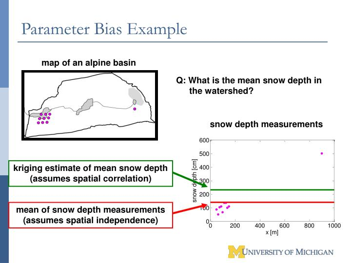 Parameter Bias Example