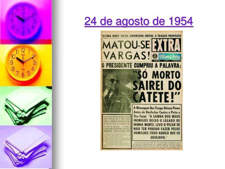 24 de agosto de 1954