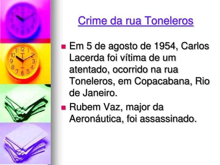Crime da rua Toneleros