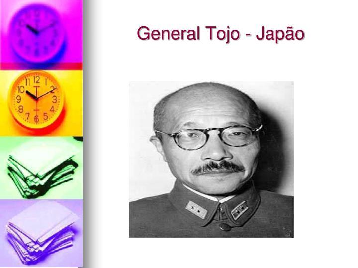 General Tojo - Japão