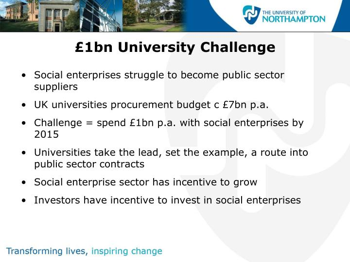 £1bn University Challenge