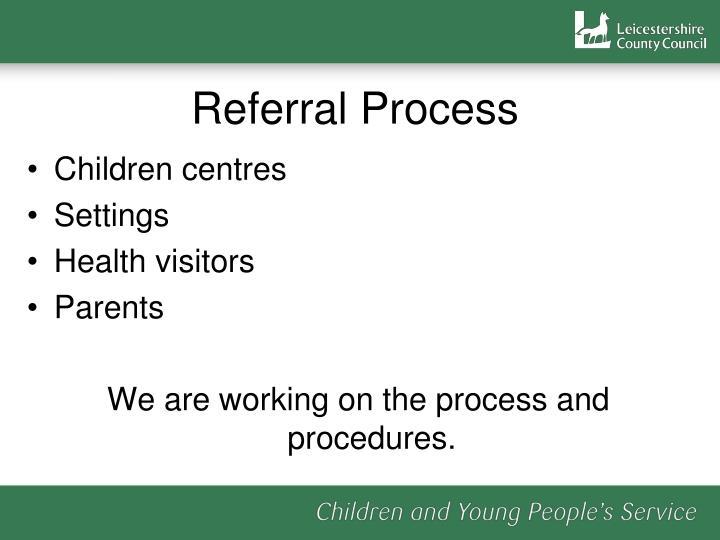 Children centres