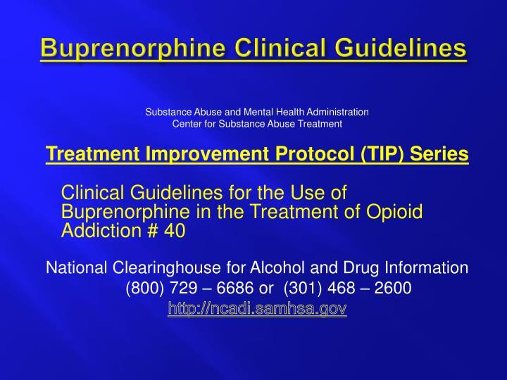 Buprenorphine