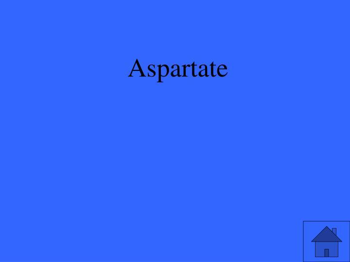 Aspartate