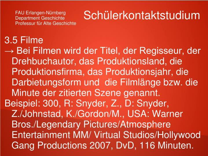 3.5 Filme