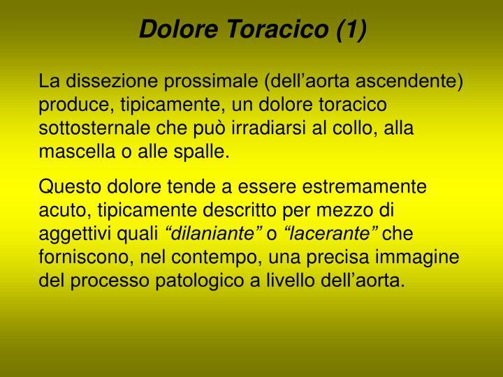 Dolore Toracico (1)