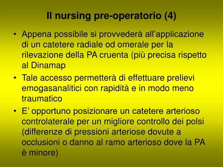 Il nursing pre-operatorio (4)