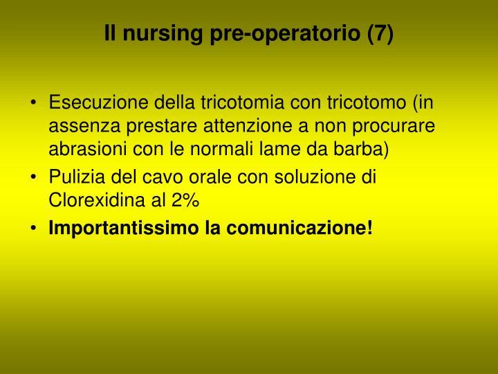 Il nursing pre-operatorio (7)