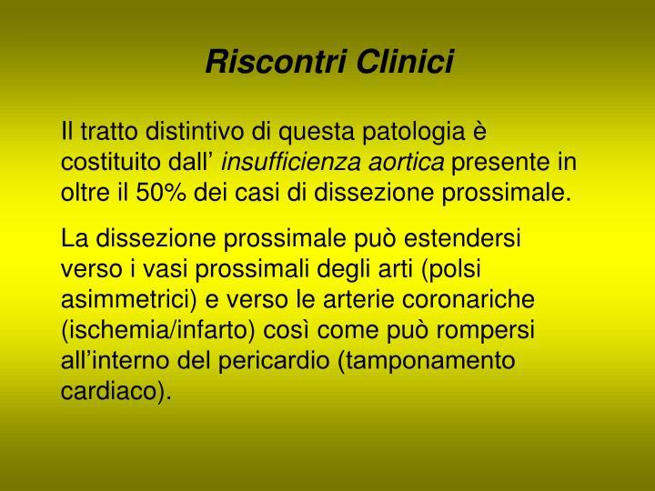 Riscontri Clinici