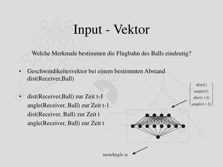 Input - Vektor