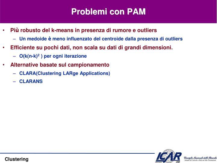 Problemi con PAM